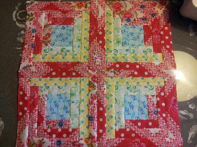 Patchwork und quiltforum einen wandbehang mit fotos - Wandbehang patchwork ...