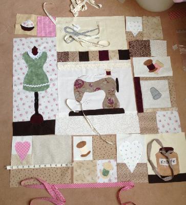 Patchwork und quiltforum n hzimmer wandbehang - Wandbehang patchwork ...