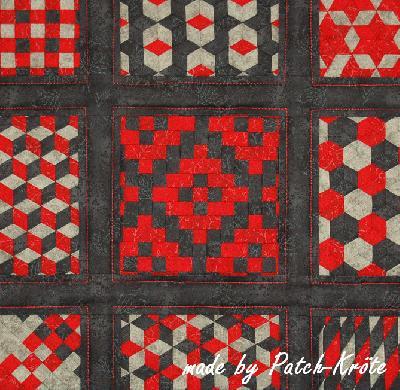 Patchwork und quiltforum wandbehang jap flechttechnik - Wandbehang patchwork ...