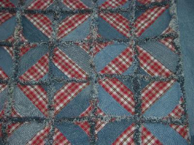 patchwork und quiltforum jeans rag quilt. Black Bedroom Furniture Sets. Home Design Ideas