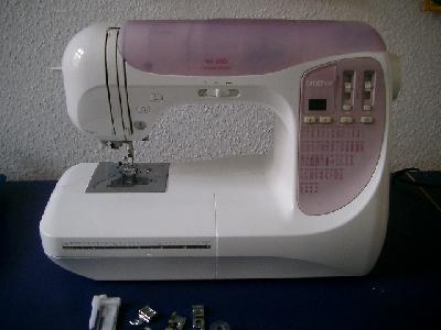 Free-motion quilting, caution | brother nx-200 user manual | page.
