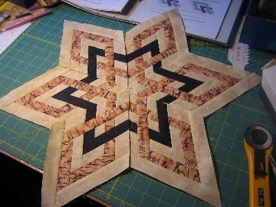 patchwork und quiltforum stern sieht aus wie geflochten. Black Bedroom Furniture Sets. Home Design Ideas