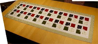 patchwork und quiltforum tischl ufer f r weihnachten. Black Bedroom Furniture Sets. Home Design Ideas