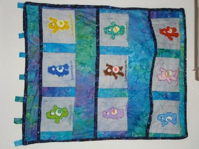 Patchwork und quiltforum wandbehang utensilo - Wandbehang patchwork ...