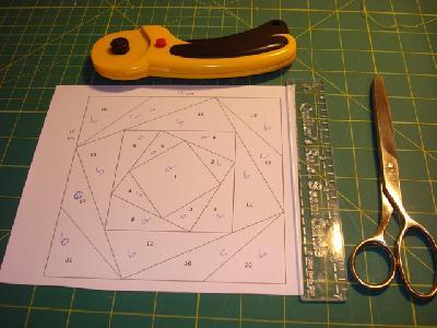 Patchwork- und Quiltforum - - Ripless Paper Piecing oder Nähen auf ...